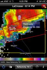Arkdale, Wisconsin - Tornado - Radar