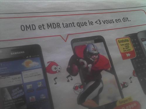 OMD trop MDR, LOL !