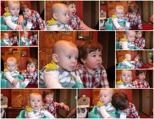 Noah and Weston T-giving 2011