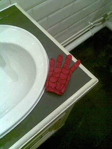 spidey glove