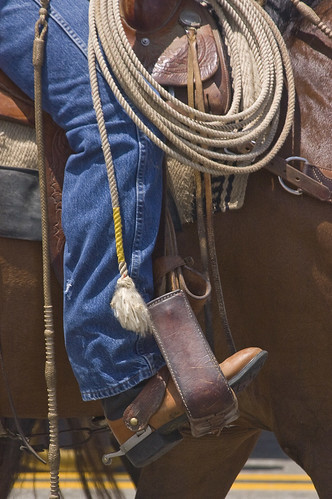 Boots and Rope by Damian Gadal