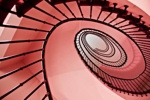 [フリー画像素材] 建築物・町並み, 施設, 室内空間, 階段 ID:201112071400
