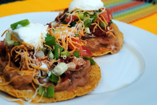 Chicken Tostasas
