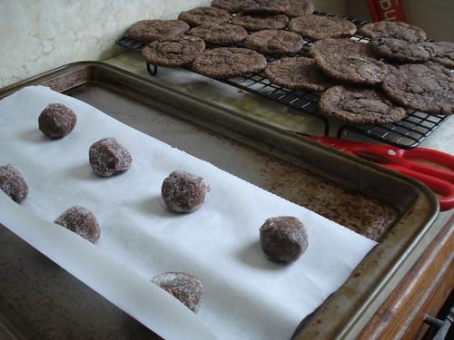 ChocolateCookiesBeforeAndAfter