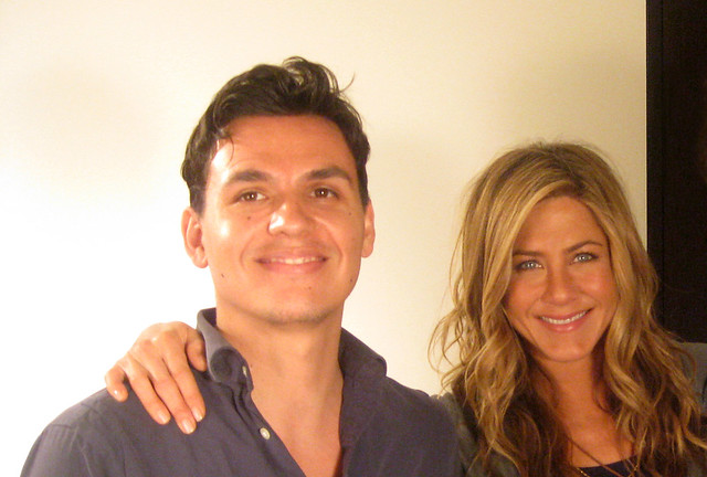 Jennifer Aniston, Andres Useche 2