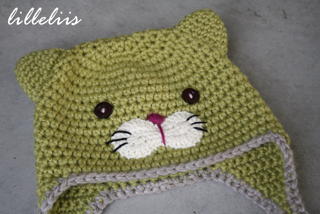 Crochet Kitty Hat A Photo On Flickriver