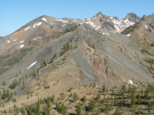 Ingalls Peak from Longs Pass, Okanogan-Wenatchee National Forest, Teanaway Area, Washington