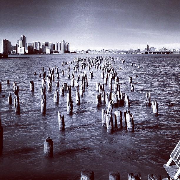 Pier on the Hudson #6