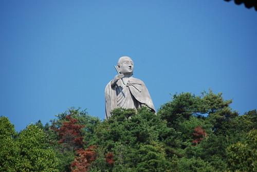 Statue of Kōbō-Daishi