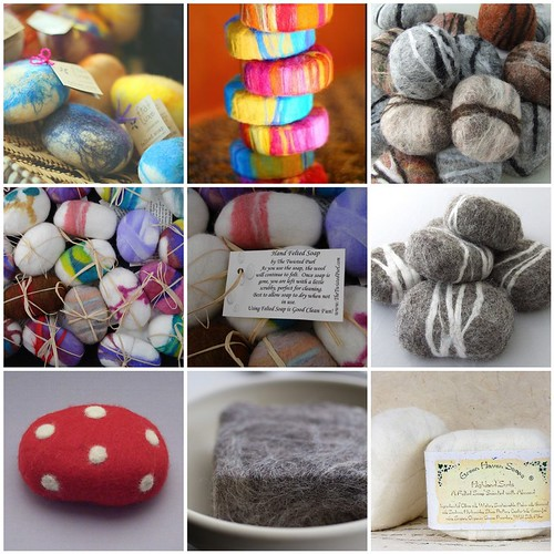 Felted Soap Inspiration