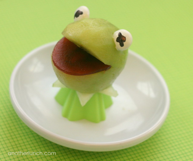 Funny Kermit The Frog Snack
