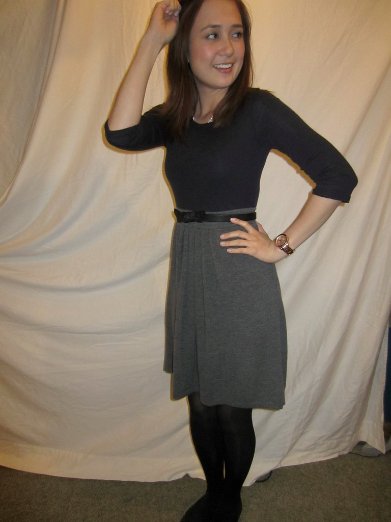 Lauren conrad inspire and sweater dress 026