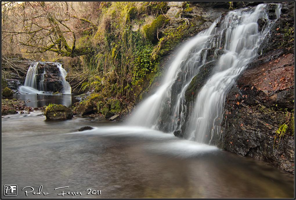Cascadas de Viaña - Cabuérniga - tercer y cuarto salto