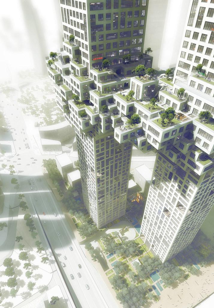 أبراج كورية أشبه بـ أبراج نيويورك بعد تفجيرها 6473433191_15a7fc1fa