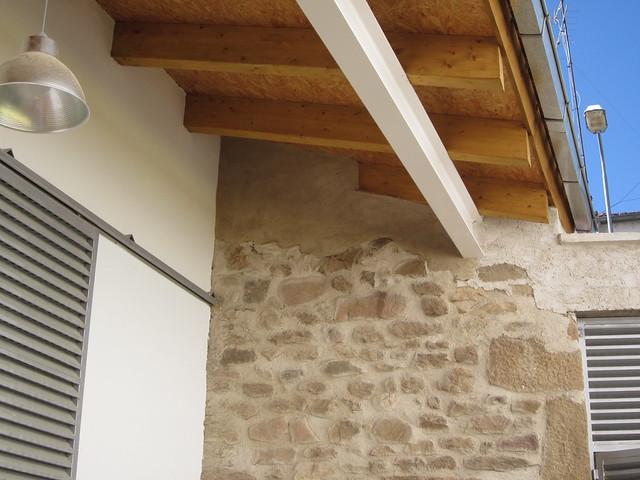 Rehabilitaci n de vivienda unifamiliar porche de entrada - Porche entrada vivienda ...