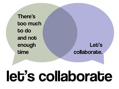 there's too much to do and not enough time / response: let's collaborate