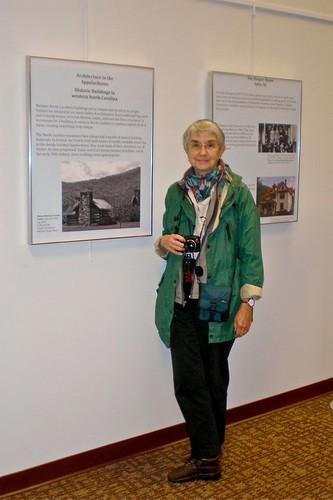 museum project student library exhibit logcabin wcu libslibs westerncarolinauniversity hunterlibrary mystuart