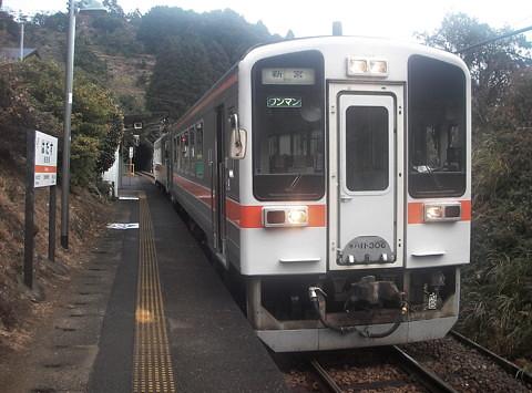 紀勢線波田須駅