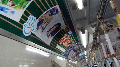2011/12 京阪大津線 けいおん車両 #08
