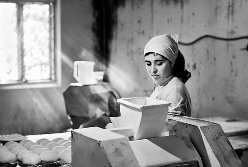 The Baker. Gali, Abkhazia (Caucasus)
