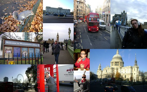 Ana em Londres Dez de 2011 by Ana Tarequita