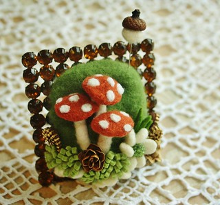 A little mushroom arrangement..