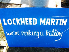 Image result for Lockheed Martin is making a killing, brandywine peace community