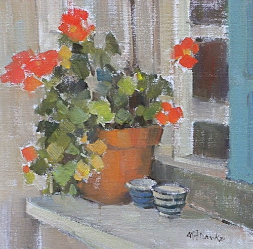 Nancy Franke windowsill-in-provence