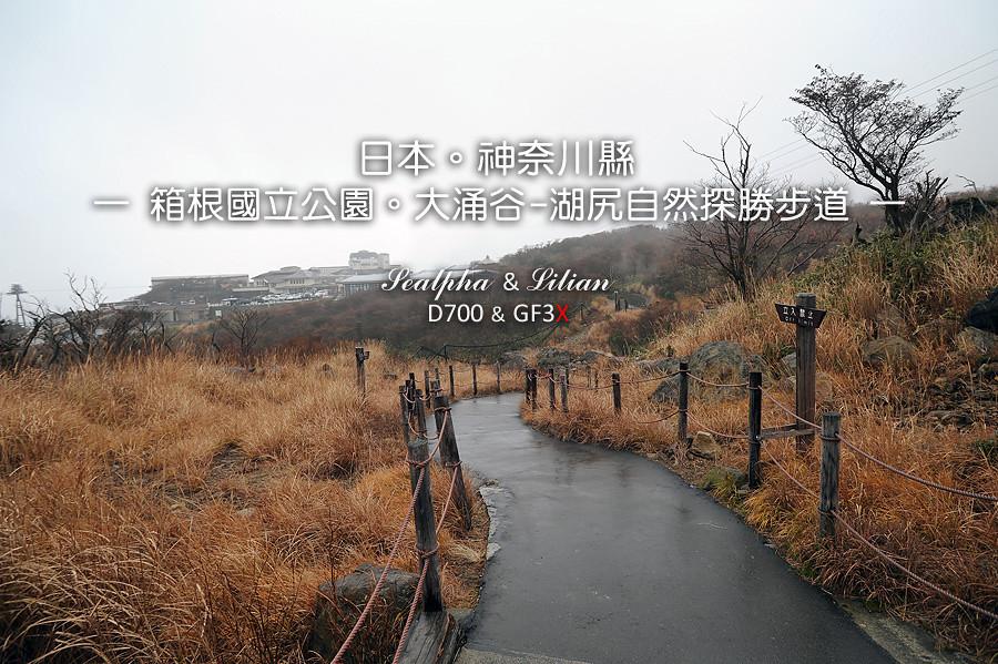 日本.神奈川縣 箱根國立公園-大涌谷
