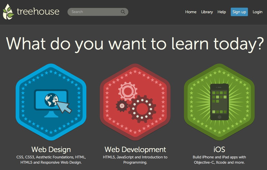 Learn Web Design, Web Development, and iOS Development - Treehouse