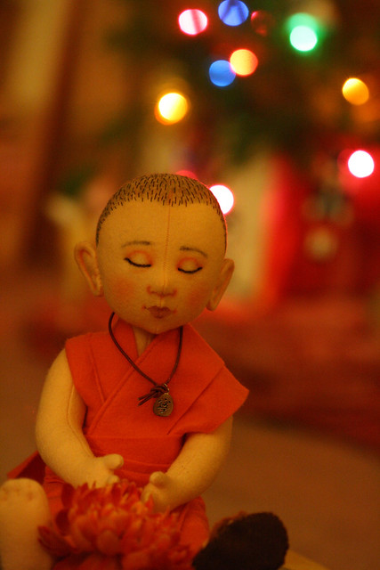 Have yourself a merry little (buddhist) Christmas
