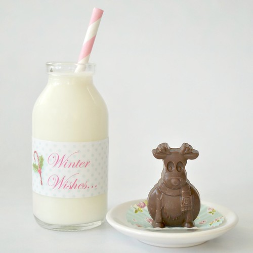 Milk & chocolate reindeer