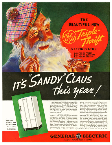 Sandy Claus Is Triple-Thrifty  by paul.malon