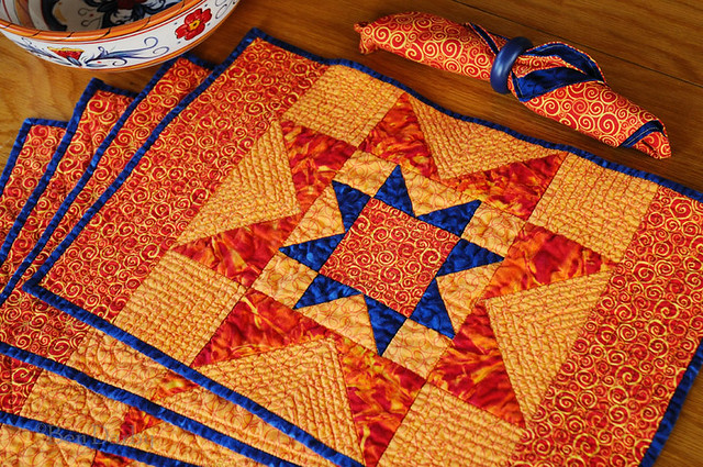Free Patterns For Quilting Placemats Cafca Info For