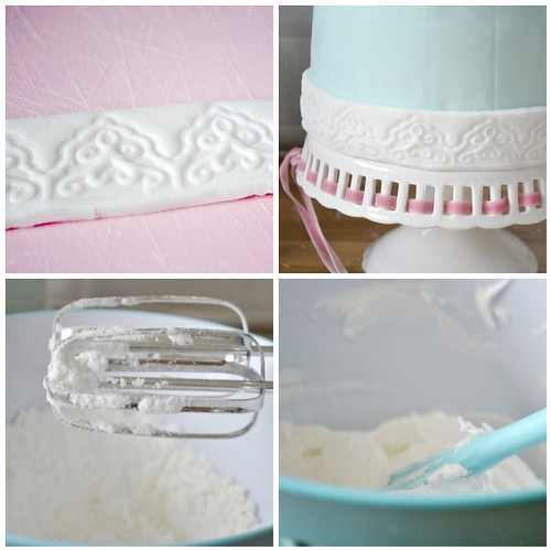 Decorating my bird cage shaped cake steps 5-8