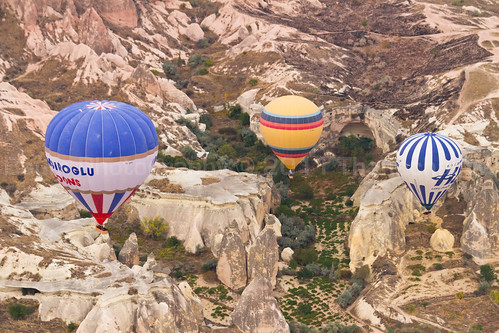 Ballooning over Fairy Chimneys III