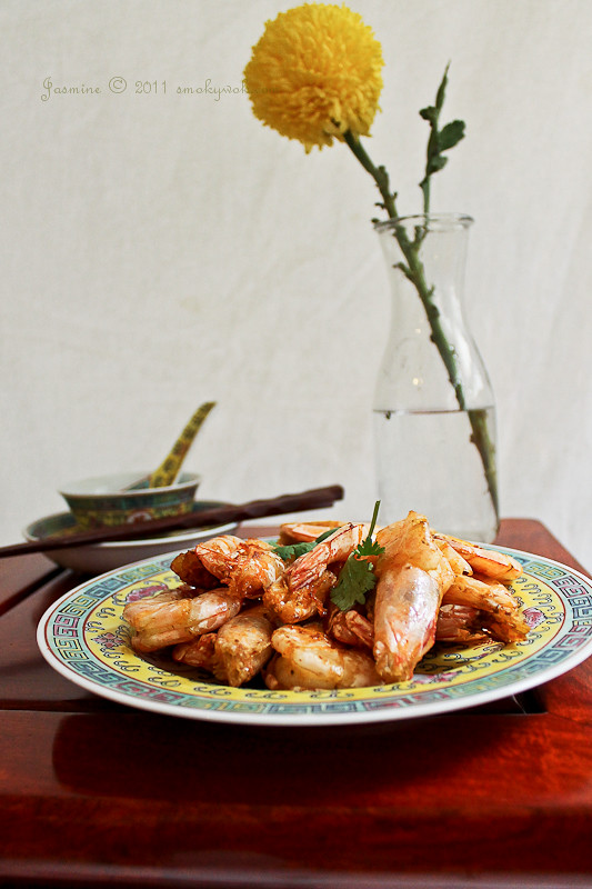 Golden Fried Salted Prawns 金黄虾