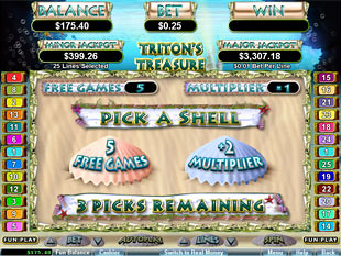 Triton's Treasure Free Spins