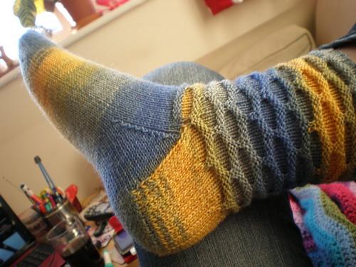 Circles Sock
