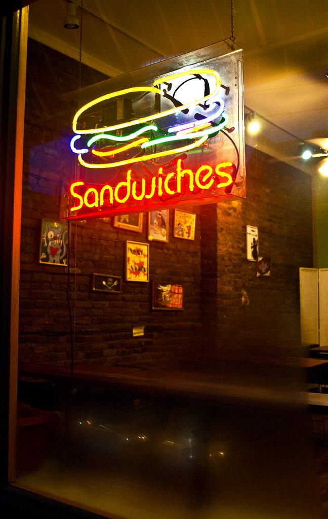 365-175 Neon Steamy Sandwich