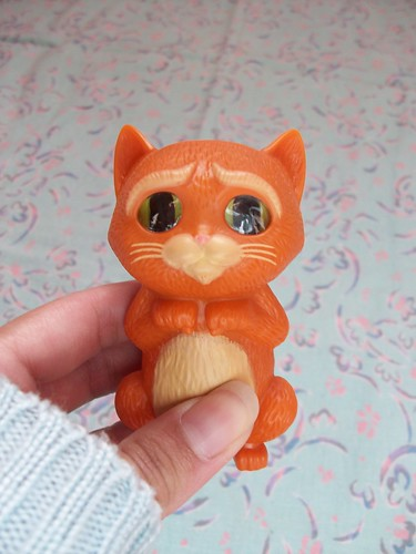 baby puss in boots from happy meal (after)