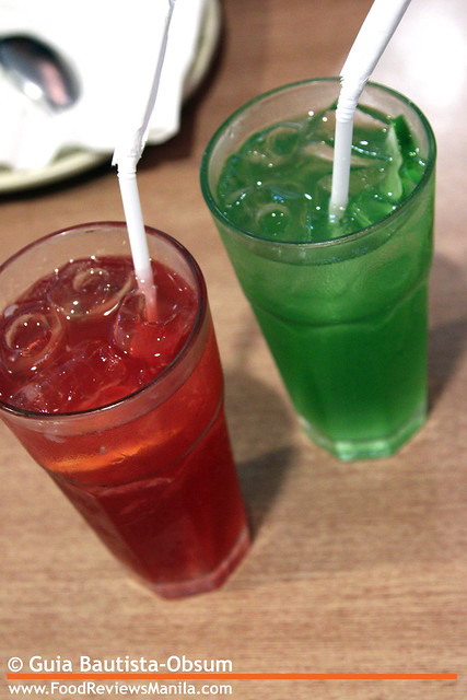 Sumo Sam Red and Green Iced Tea