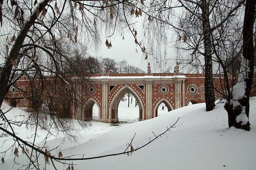 Gothic Bridge/Tsaritsyno park, Moscow, Russia by Varvara_R