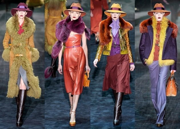 colorful outfits Gucci 2011