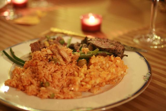 dinner (not my plate)