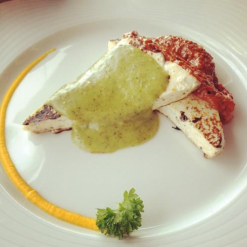 Queso asado con mojo #foodporn #gomera #canarias #canaryislands #food