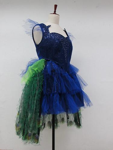 building a peacock