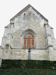 Burelles (église fortifiée et monument-aux-morts) 1