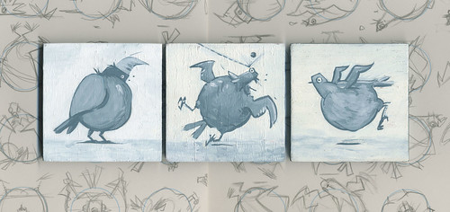 pigeons by Jason Dryg