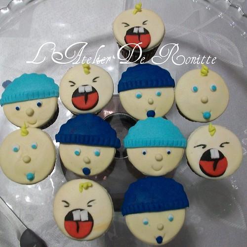 Baby Kutlar Faşadura Cupcakes by l'atelier de ronitte